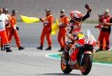M.Marquezas devintus metus iš eilės laimėjo Vokietijos GP lenktynes