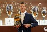 "Oficialu: ""Ballon d'Or"" apdovanojimą laimėjo Cristiano Ronaldo"