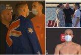 M.Bukauskas ir J.Crute'as UFC svėrimuose neturėjo problemų, B.Ortega buvo sunkiai atpažįstamas