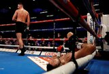 T.Fury pusbrolis jau penktajame raunde nokautu iškovojo Didžiosios Britanijos bokso čempiono diržą
