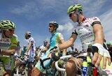 Trečiajame dviračių lenktynių Prancūzijoje etape G.Bagdonas liko vos 81-as