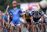 """Ketvirtajame """"Eneco Tour"""" lenktynių etape A.Kruopis ir G.Bagdonas finišavo kartu su pagrindine grupe"""