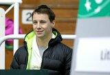 Geriausių ATP tenisininkų reitinge lietuviai prarado turėtas pozicijas