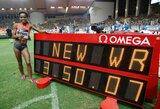 """""""Deimantinės lygos"""" etape Monake G.Dibaba pagerino beveik 22 metus gyvavusį pasaulio rekordą! (+ kiti rezultatai)"""