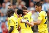 """M.Sarri debiutas Anglijoje pažymėtas triuškinančia """"Chelsea"""" pergale"""