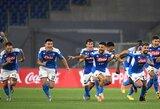 """Po baudinių serijos """"Juventus"""" patiesęs """"Napoli"""" iškovojo Italijos taurę"""
