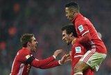 """Pirmasis M.Hummelso įvartis lygoje leido """"Bayern"""" klubui iškovoti svarbią pergalę"""