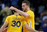 """D.Lee ir S.Curry vedama """"Warriors"""" komanda ikisezoninėse rungtynėse nugalėjo """"Lakers"""" krepšininkus"""
