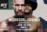 """T.Woodley įvertino C.McGregoro ir """"Kaubojaus"""" kovą: """"Didžiausias įmanomas mėšlas"""""""