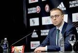 LKL sprendimą įvertinęs P.Motiejūnas kalbėjo apie dabartinę situaciją bei Eurolygos ir klubų pozicijas