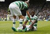 """""""Celtic"""" klubo """"įvarčių mašinai"""" sezonas baigėsi anksčiau laiko"""