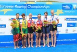 Irkluotojos D.Vištartaitė ir M.Valčiukaitė iškovojo Europos čempionato sidabrą!