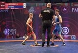 R.Čepauskas kovos dėl Europos jaunių imtynių čempionato bronzos