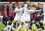 Neįtikėtina rungtynių pabaiga Prancūzijoje: penkios raudonos kortelės ir PSG antrasis pralaimėjimas
