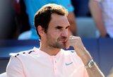R.Federeris patyrė traumą, R.Nadalis taps pirmąja pasaulio rakete