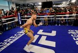 Per C.McGregoro atvirą treniruotę pamatytas judesys užkariauja kovotojus