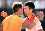 Po daugiau nei metų pertraukos įvykusioje dvikovoje R.Nadalis įveikė N.Djokovičių