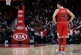 """""""Bulls"""" sezoną užbaigs be dviejų lyderių"""
