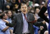"""M.D'Antoni pasitraukė iš Niujorko """"Knicks"""" vyriausiojo trenerio pareigų"""