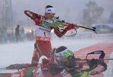 Prasti orai nutraukė pasaulio biatlono taurės etapo persekiojimo lenktynes
