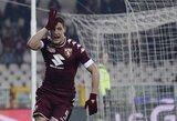 """""""Torino"""" prezidentas norėtų A.Belotti kainą padidinti iki 150 mln. eurų"""