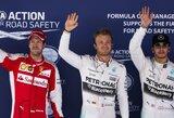 N.Rosbergas Ispanijos GP kvalifikacijoje nutraukė L.Hamiltono pergalių seriją