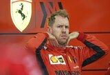 "Skandalo krečiama ""Ferrari"" rizikuoja prarasti S.Vettelį?"