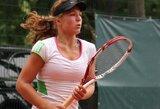 A.Paražinskaitė – per žingsnį nuo pagrindinio moterų teniso turnyro Turkijoje