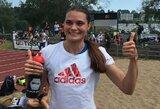 Bėgikė A.Šerkšnienė pagerino 34 metų senumo Lietuvos rekordą