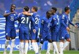 """Du 11 m baudinius per 4 minutes realizavęs """"Chelsea"""" iškovojo triuškinamą pergalę"""