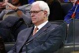 """""""Knicks"""" pratęsė kontraktą su Ph.Jacksonu"""