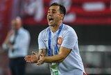 Kinijoje treneriu dirbantis F.Cannavaro žvalgosi į Angliją