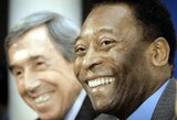 Legendinis Pele atskleidė dabarties futbolininką, su kuriuo labiausiai norėtų žaisti vienoje komandoje