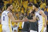 """NBA pripažino: teisėjai klydo lemiamu """"Rockets"""" – """"Warriors"""" rungtynių metu"""