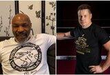 """M.Tysono sveikinimas gimtadienio proga: """"Likite stiprūs Lietuvoje"""""""