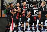 """Dėl vietos Europos lygoje kovojantis """"Bayer"""" klubas išvykoje nugalėjo """"Augsburg"""""""