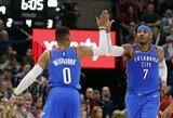 """R.Westbrooko trigubas dublis ir ketvirta """"Thunder"""" pergalė iš eilės"""