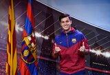 """Pamatykite: P.Coutinho pirmą kartą pasirodė su """"Barcelona"""" apranga"""