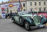 Perlas ralio karūnoje – unikalūs istoriniai automobiliai