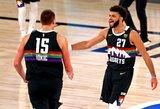 """J.Murray: """"Jokičius yra geriausias pasaulio krepšininkas"""""""