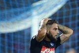 """""""Napoli"""" neįveikė lygos naujokų, """"Inter"""" sezoną pradėjo pralaimėjimu"""