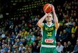 Lietuvos rinktinė nepasigailėjo Kosovo krepšininkų