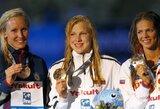 Pasaka tęsiasi: planetos rekordininkė R.Meilutytė iškovojo pasaulio čempionato aukso medalį! (D.Grybauskaitės sveikinimas)