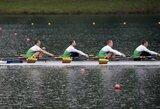 Lietuvos irkluotojai laimėjo pusfinalį ir pateko į pasaulio čempionato A finalą!