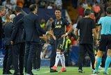 """M.Allegri tūžta: """"Su VAR pagalba teisėjas būtų anuliavęs C.Ronaldo raudoną kortelę"""""""