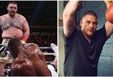 A.Joshua gimtadienį sugadino dopingo kontrolieriai, A.Ruizas sparčiai meta svorį prieš revanšinę kovą