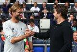 """J.Mourinho išgyrė J.Kloppą ir M.Pochettino: """"Jie abu nusipelnė titulo"""""""