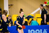 K.Riliškytė Europos jaunučių stalo teniso čempionate nukeliavo iki ketvirtfinalio