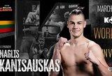 """Jaunasis ringo talentas N.Kanišauskas: """"Mano užduotis – kovą baigti anksčiau laiko"""""""