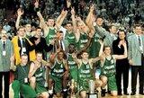 """Praėjo lygiai 20metų: didžiausia Lietuvos klubinio krepšinio pergalė – """"Žalgirio"""" triumfas Eurolygoje"""